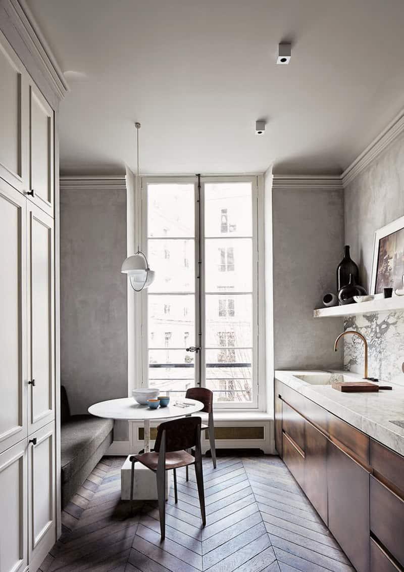 Cucina sotto finestra come sfruttare al meglio lo spazio design outfit - Panca sotto finestra ...