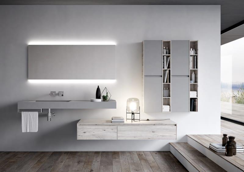 progetto bagno: funzionalità, compattezza, linearità