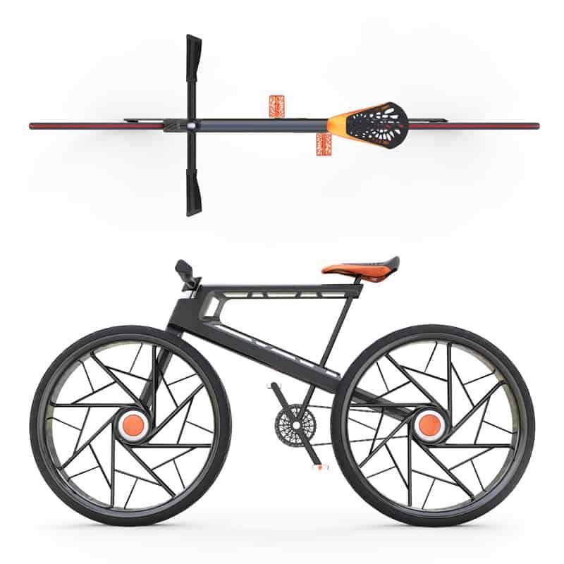 "design americano | Tong Jin (TJ) Kim | ""Inter Bike"" Urban Bike"