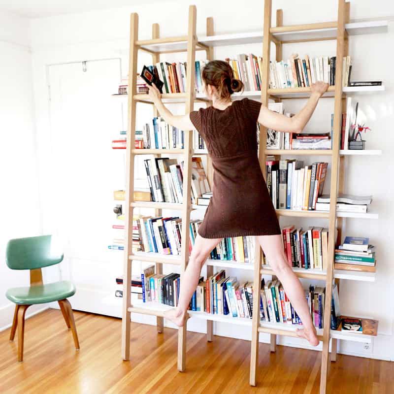 design americano | Marc Scimé |Huxley's Ladder Bookshelves Book shelf