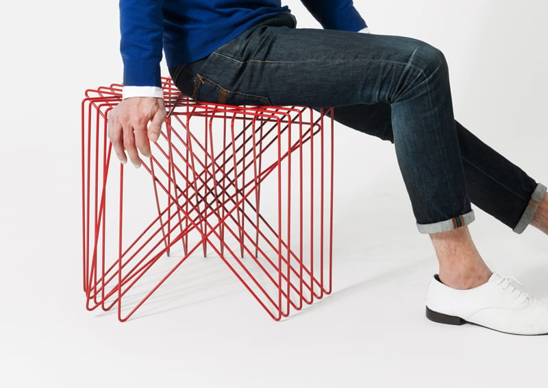 design giapponese | Shinn Asano |Kagome Stool