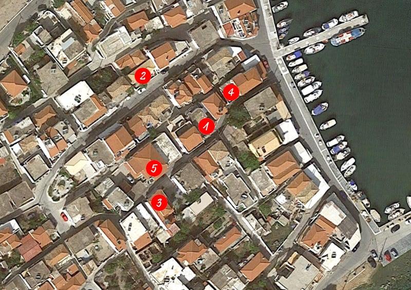 piccola guida di Elafonisos, perla della Laconia | mappa dei servizi principali