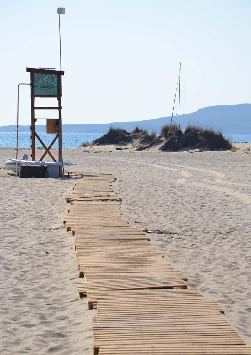 piccola guida di Elafonisos, perla della Laconia | spiaggia di Simos
