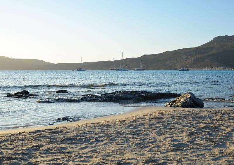 piccola guida di Elafonisos, perla della Laconia | la spiaggia di Simos Sarakiniko