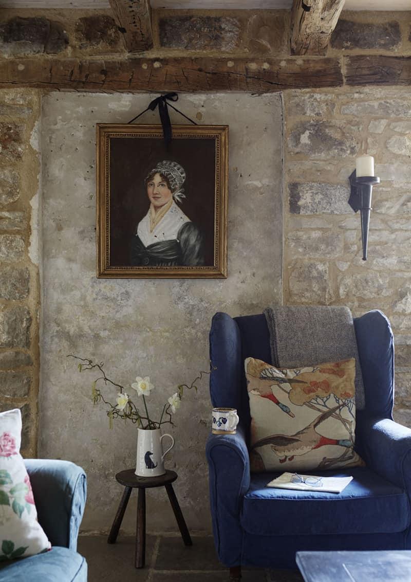 pietra per interni: un nuovo gusto per l'antico | pietra per interni sulle pareti: la struttura a vista