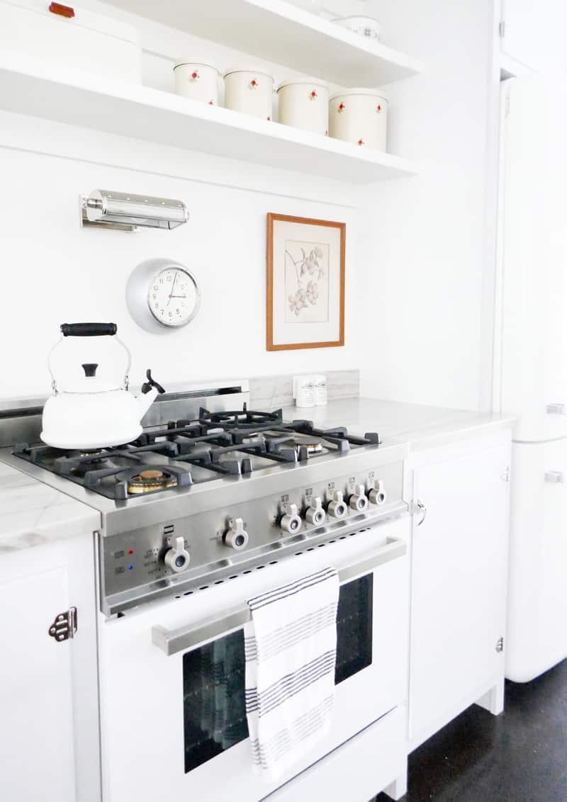 cucina aperta sul soggiorno | progetto e fotografia One to One Studio