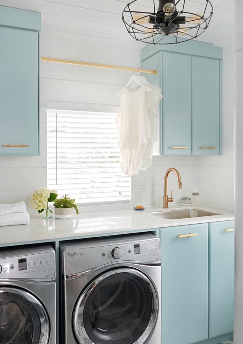organizzare lavanderia, stireria e ripostiglio in casa