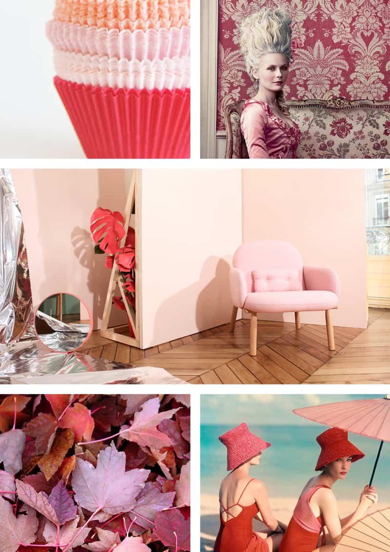rosso e rosa tendenza 2018: un abbinamento che funziona!