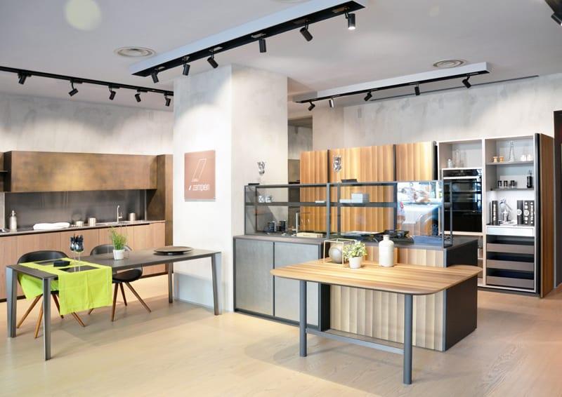 Novit cucine 2018 zampieri nuovo showroom a roma for Cerco cucina nuova occasione