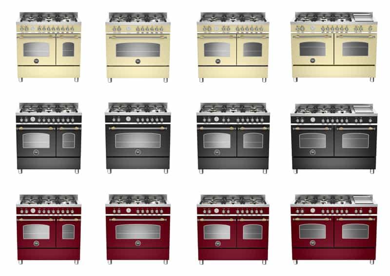 cucina freestanding della tradizione: funzioni, design e colori ...