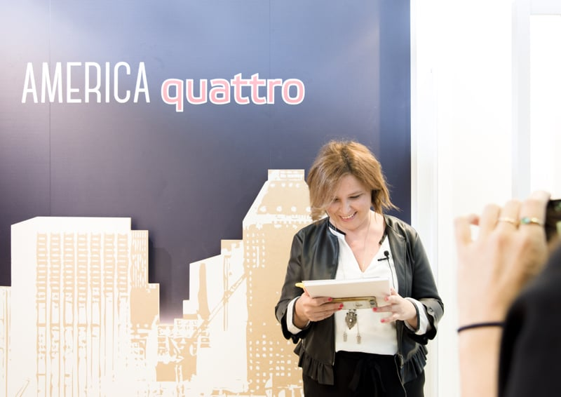 4 architetti, 4 cabine doccia: Elisabetta di MaisonLab, Samo, America quattro