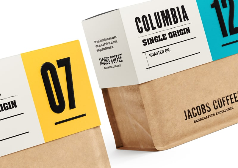 design australiano | Angela Spindler | Jacobs Coffee Beans