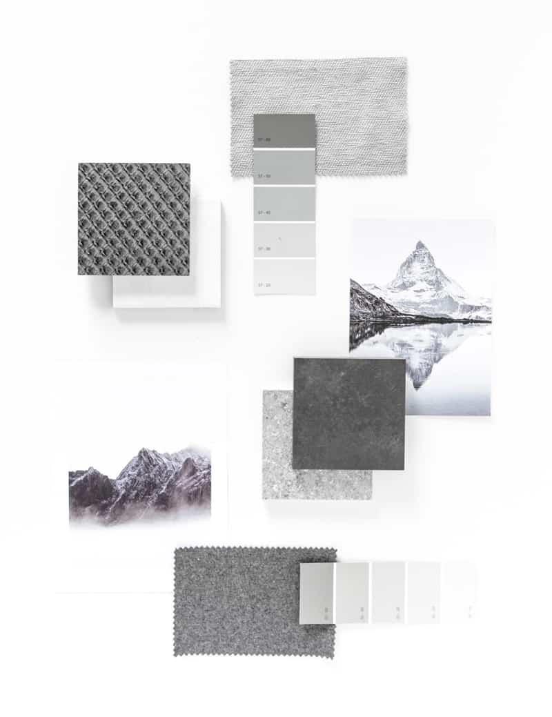 unprogetto, Ispirazioni e color palette | sulla vetta di una montagna
