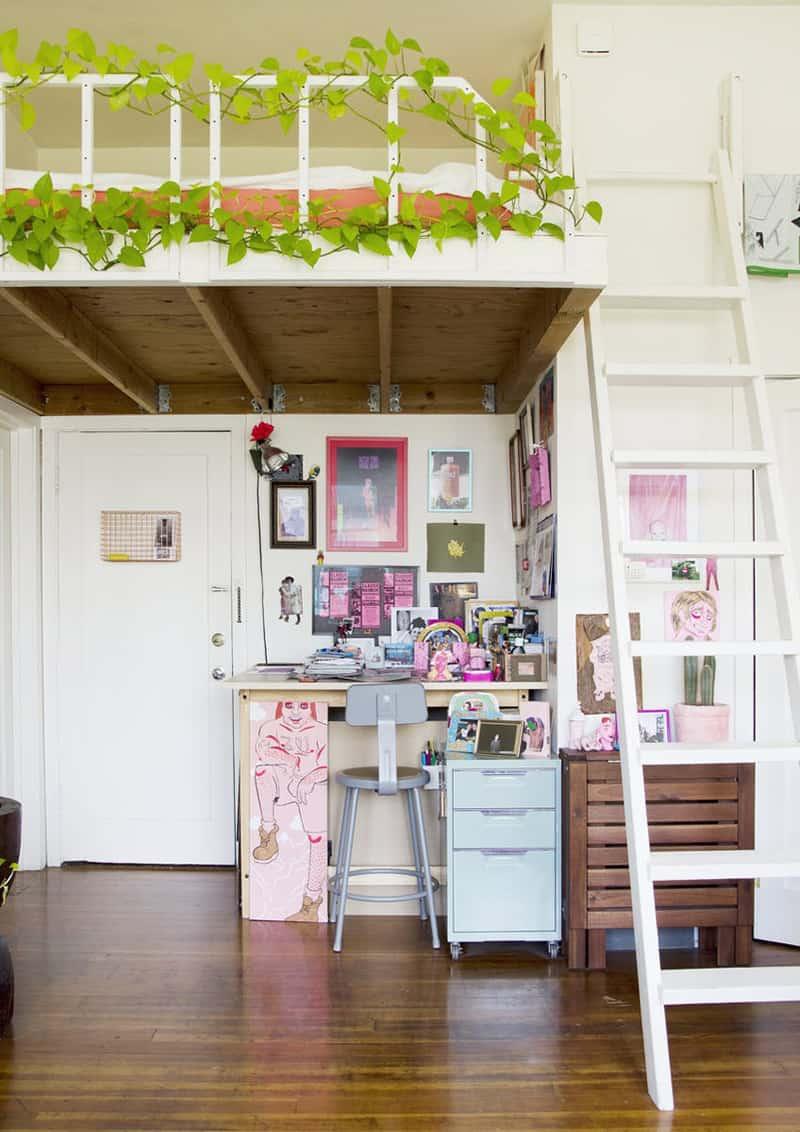 una mini casa che non piacerebbe a Marie Kondo