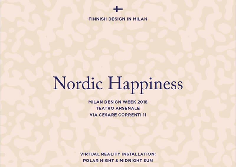 design nordico al Fuorisalone 2018: ecco cosa non perdere