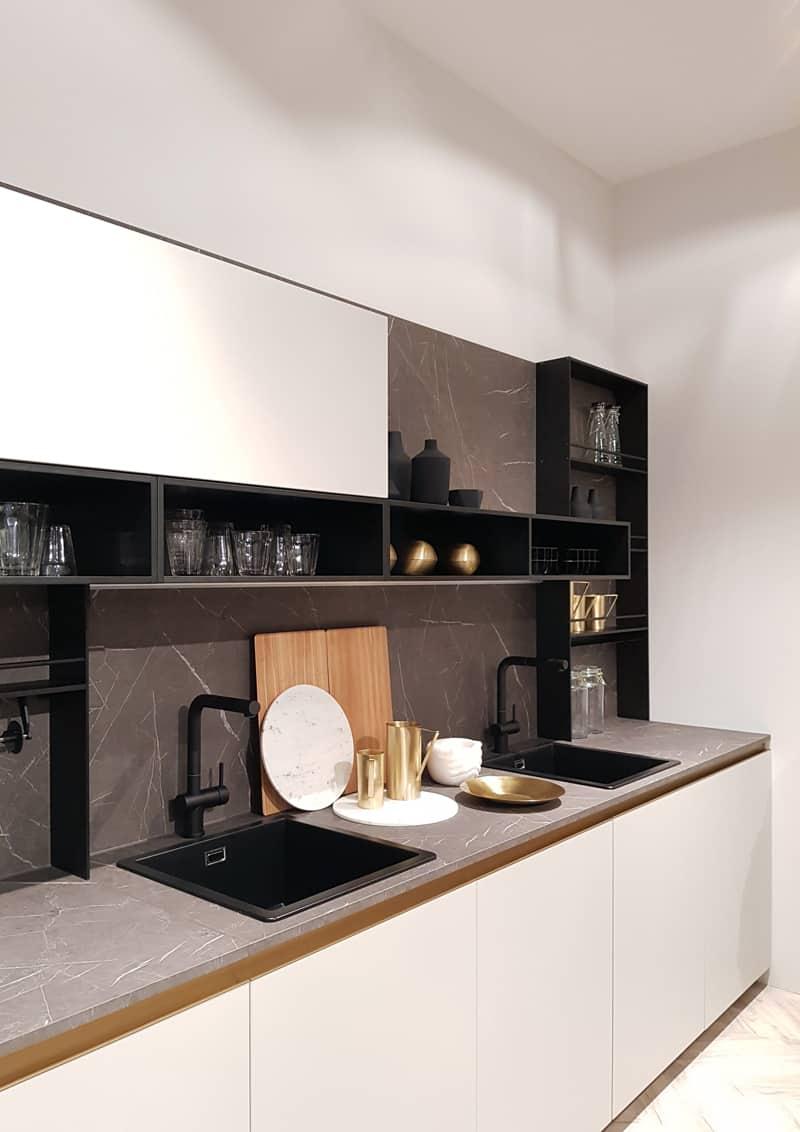 cucina moderna e minimale: una novità da Eurocucina 2018