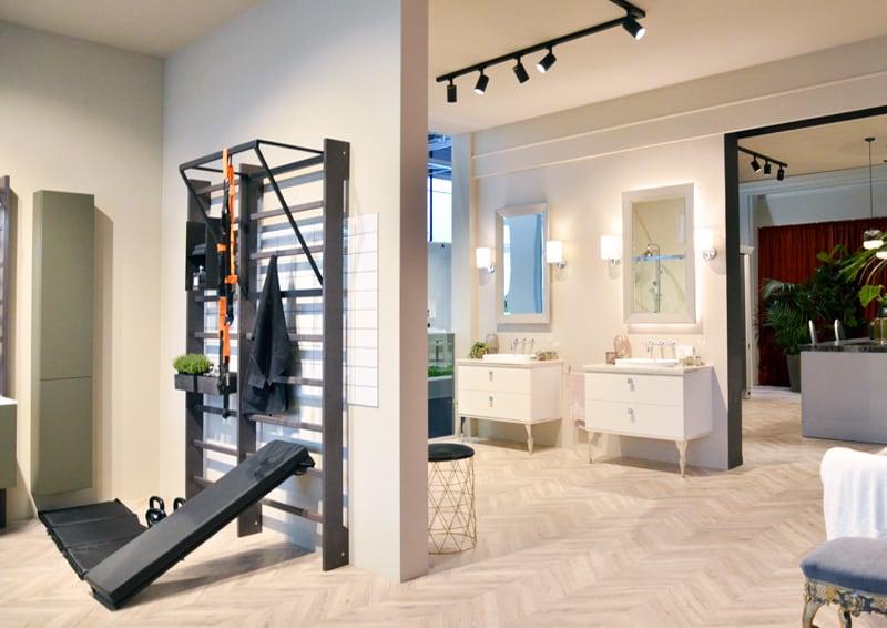 novità Scavolini da Cersaie 2018: Gym Space e Laundry Space