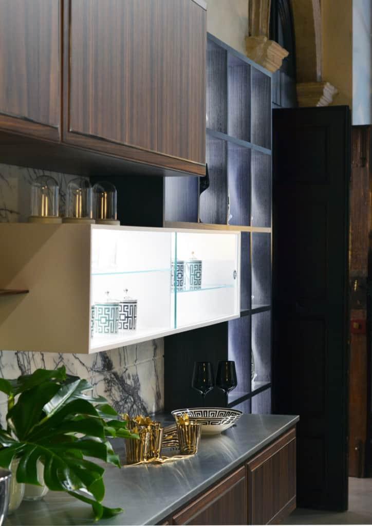 è in una villa del '700 il nuovo showroom a Verona di Martini Mobili