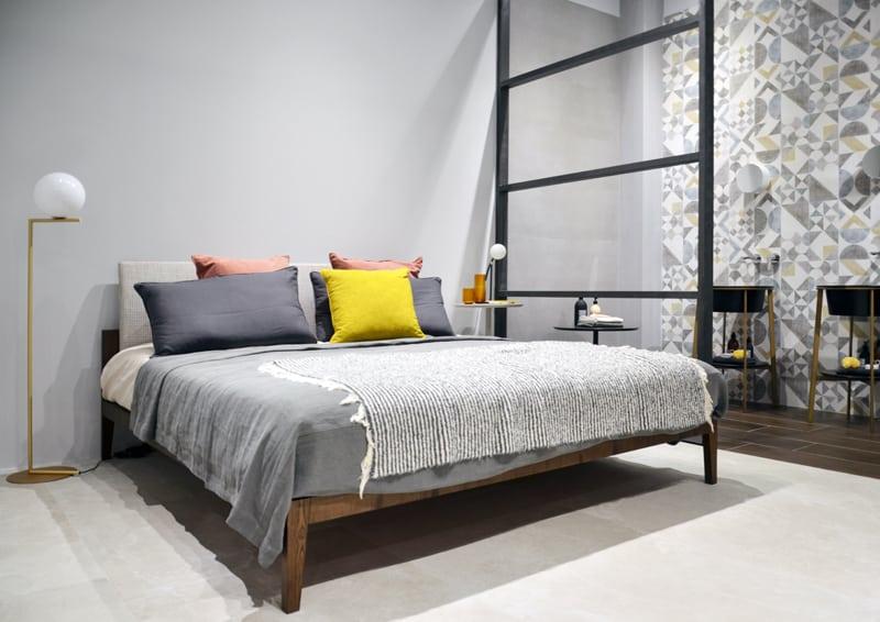 Piastrelle in camera da letto: soluzioni su misura da cersaie 2018