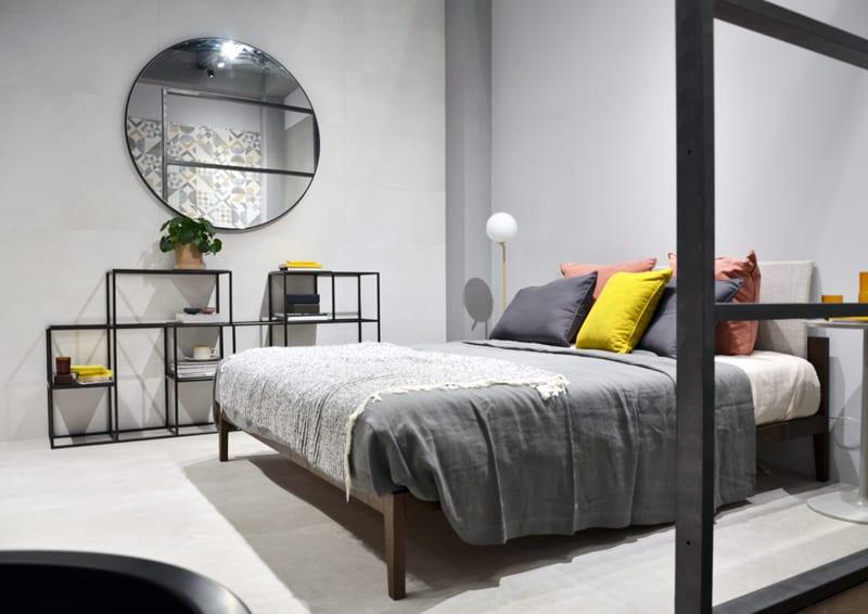 Piastrelle in camera da letto soluzioni su misura da cersaie
