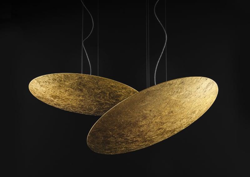 Panzeri, Gong: eliminare il superfluo da una lampada a sospensione