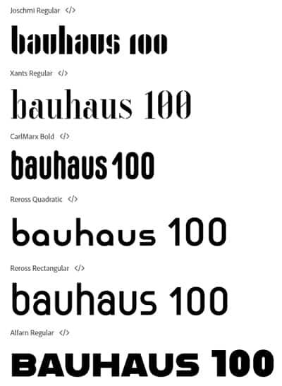 i luoghi del Bauhaus | una visita per il centenario del 2019