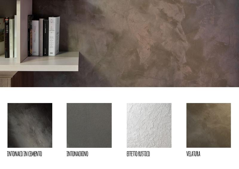 Pittura Cemento Design : Pareti effetto cemento in soggiorno design outfit