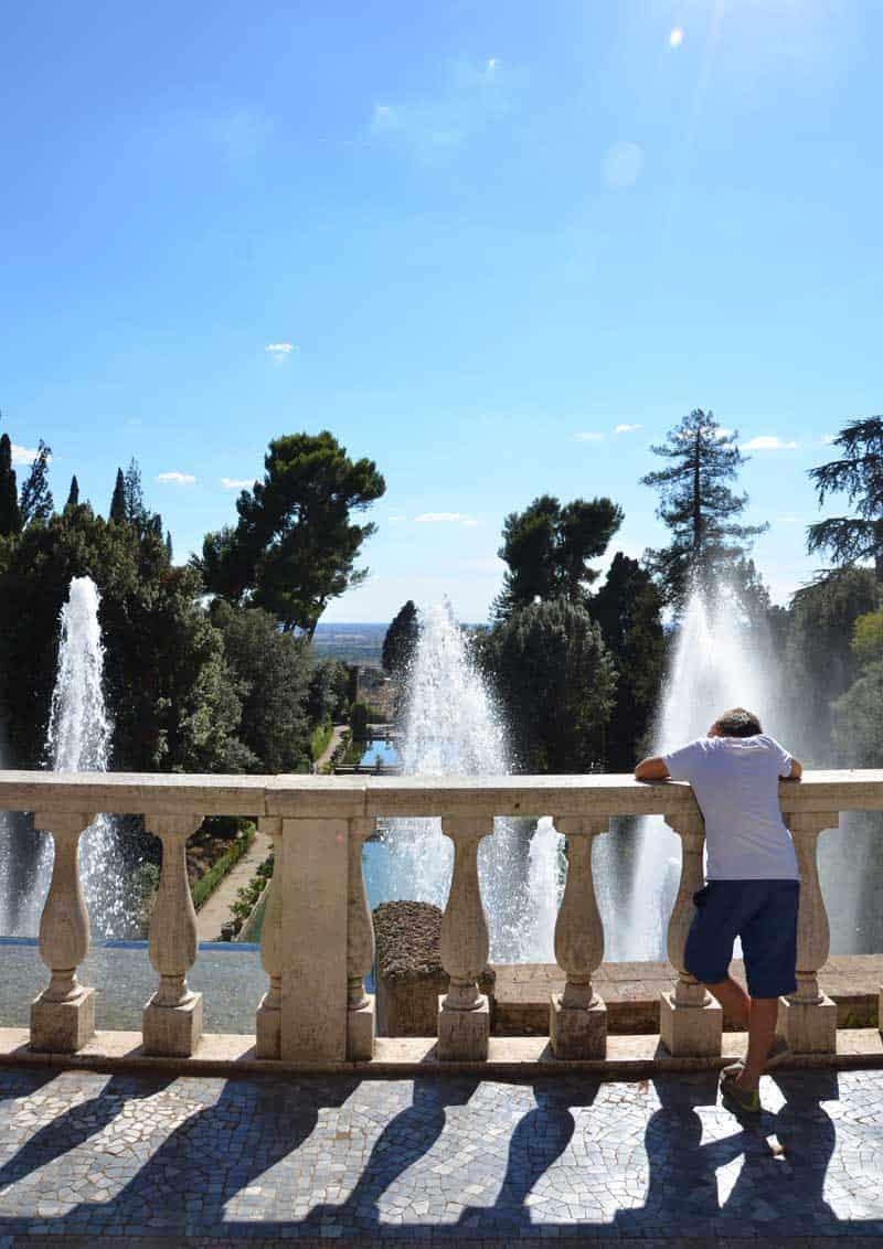 il palazzo delle meraviglie: Villa d'Este a Tivoli