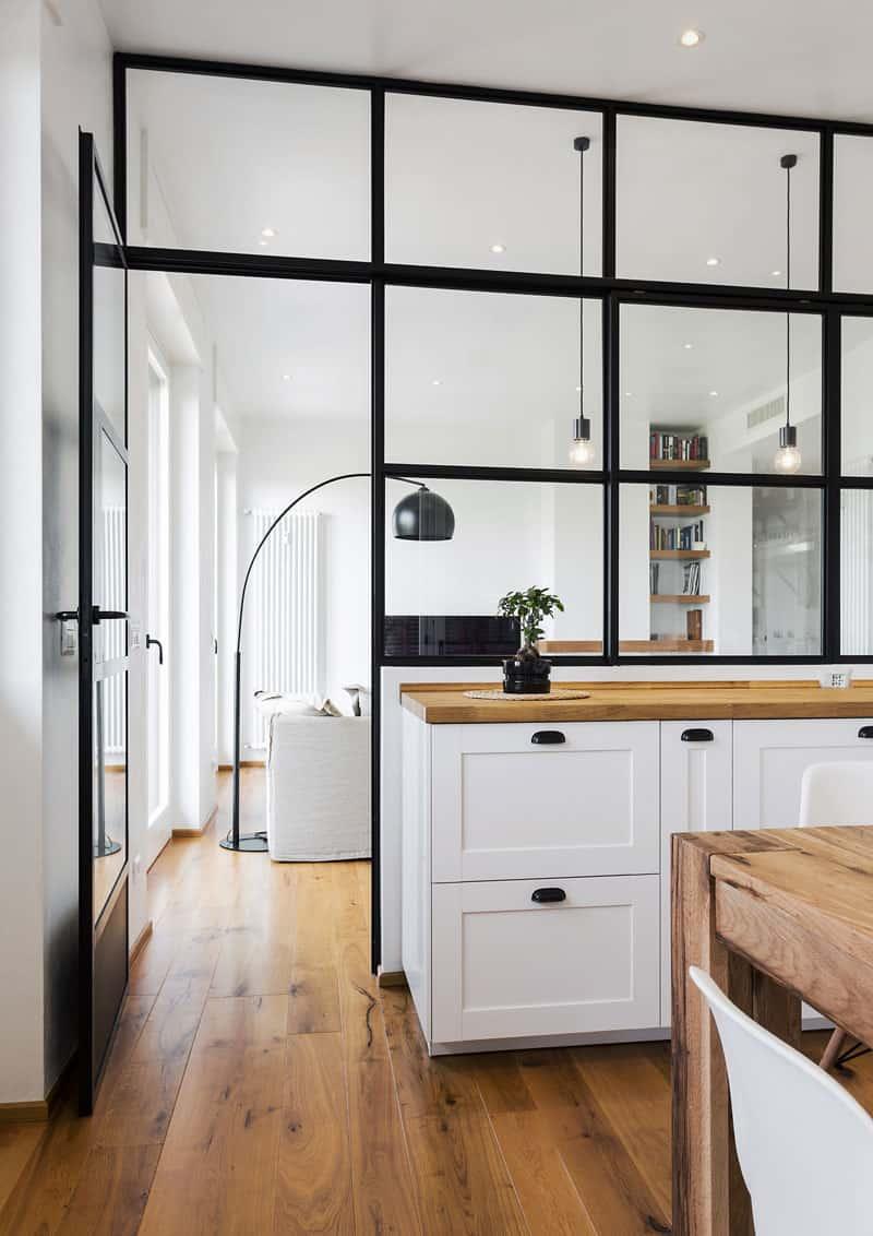 pareti in vetro per interni: guida alla scelta | design outfit