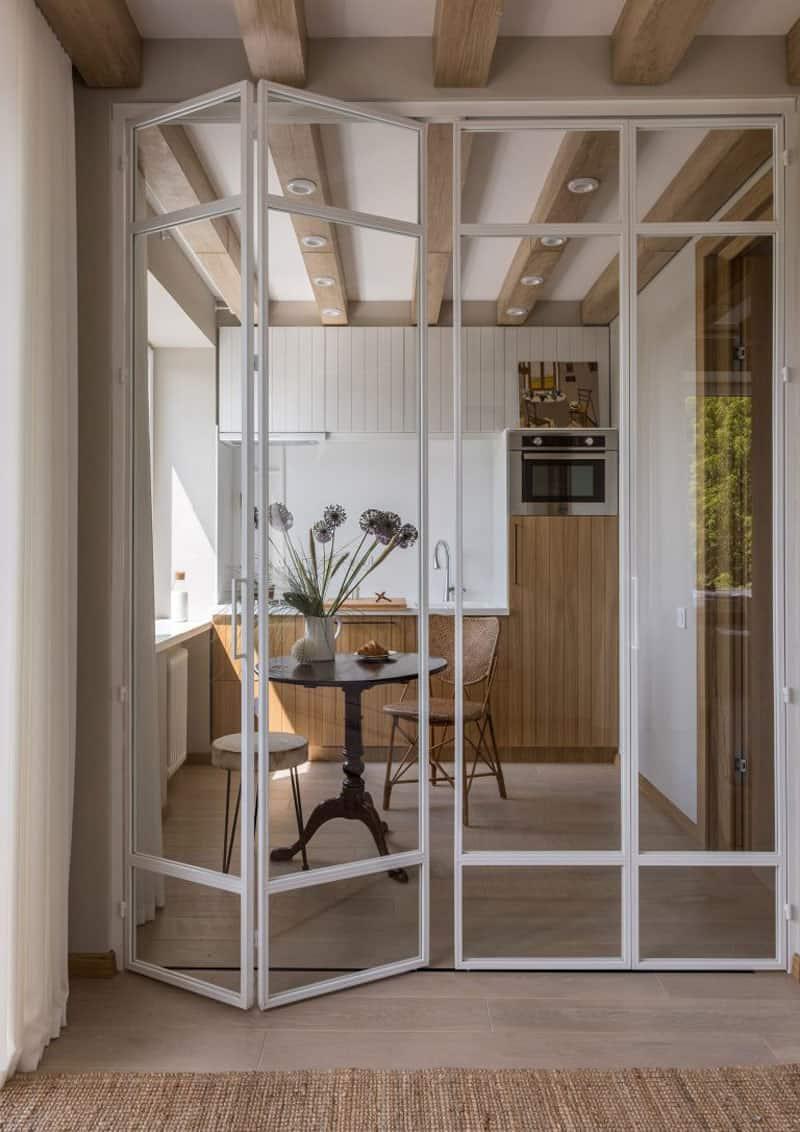 Cucina Con Vetrata Scorrevole pareti in vetro per interni: guida alla scelta | design outfit