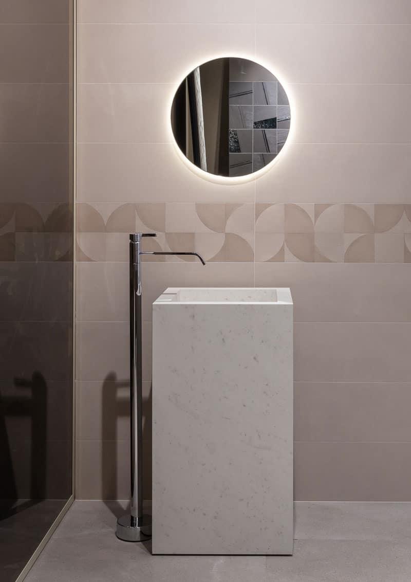 bagno in gres: dal pavimento al rivestimento, dai mobili ai lavabi